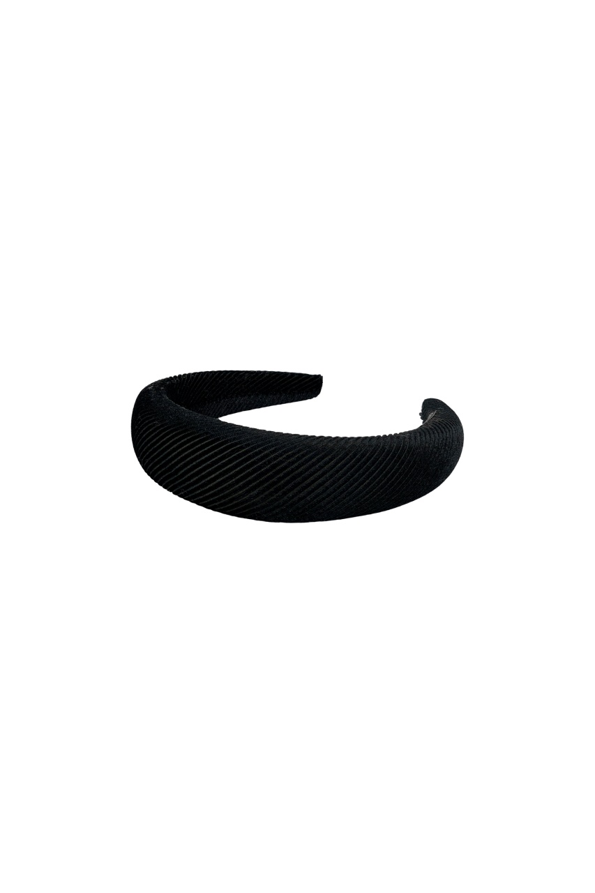 Colour - Headband - Chuncky - black