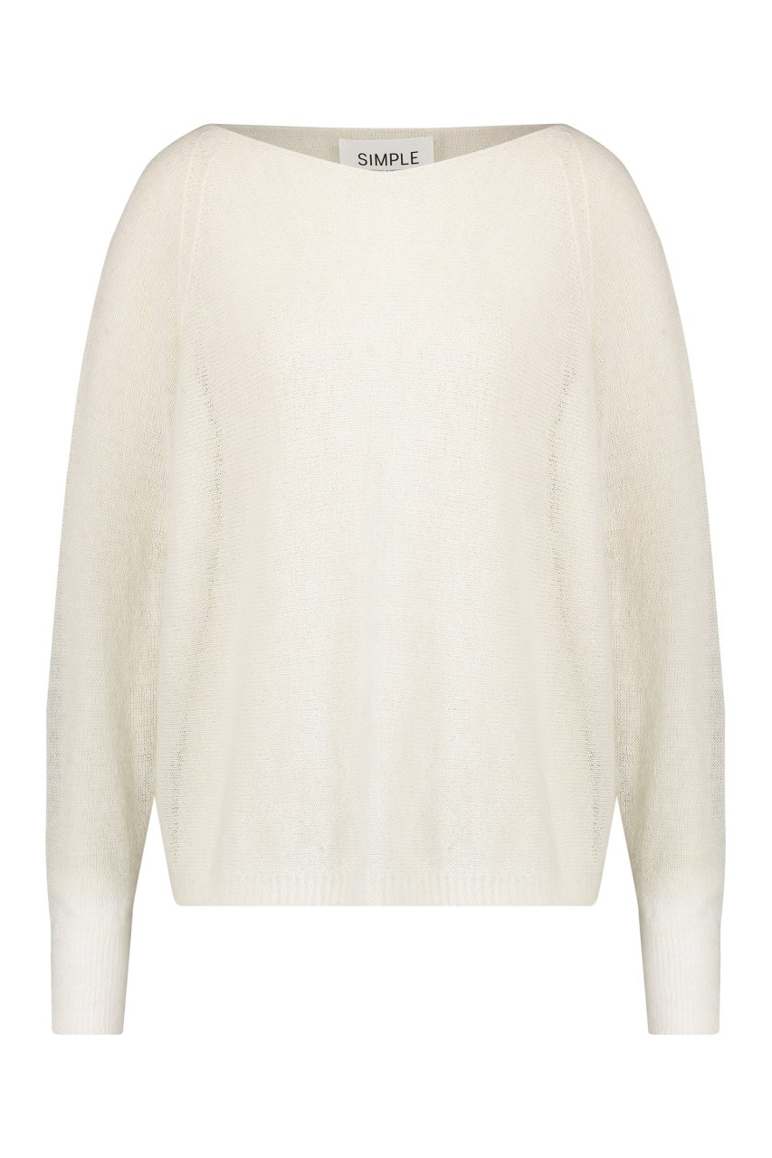 Simple - Petrus - Pullover - Offwhite