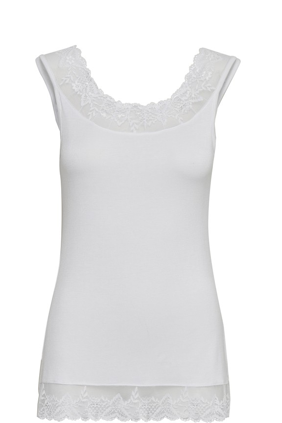 Cream clothing - Top - lorence - white