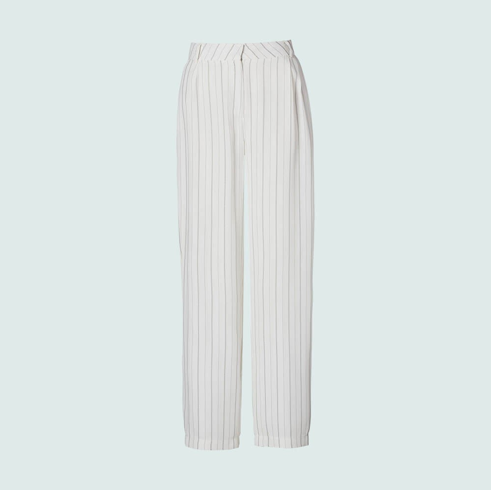 Pant Studio - white/striped
