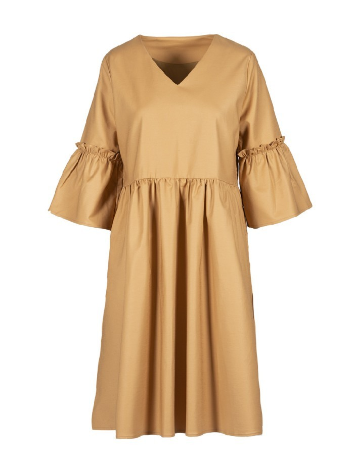 Anonyme Designers - Donna - Eva - Dress - camel