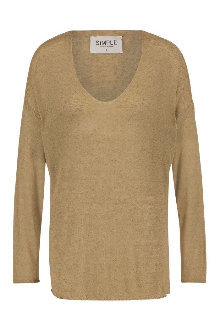simple - Esher - Pullover - sand