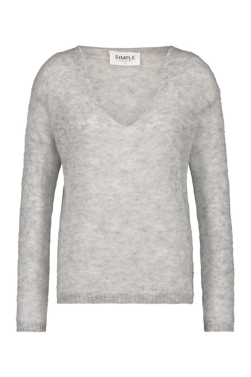 Simple - Vince - Pullover - grey