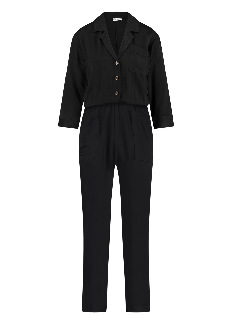 Hosen - Jumpsuit Sally schwarz  - Onlineshop Olden Mea