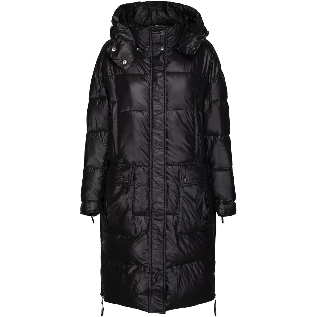 Arya - Puffercoat - Black