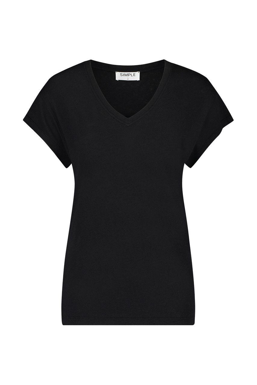 Simple - Ivy - Tee - Black