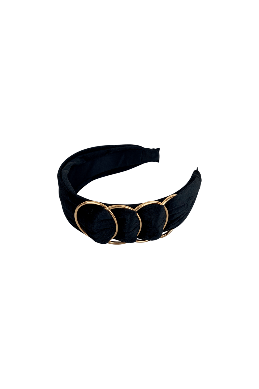 Colour - Headband - Goldring - black