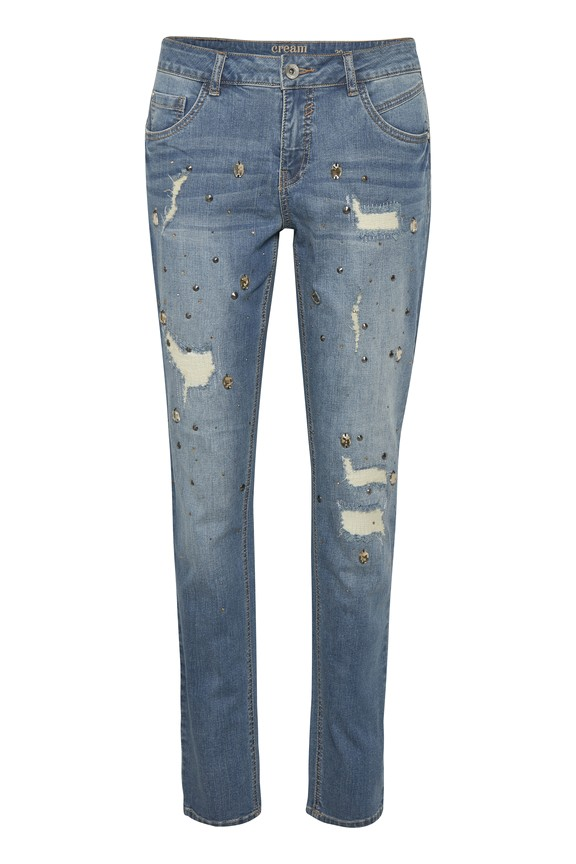 Cream - Jeans - Diamond - Light Blue Denim