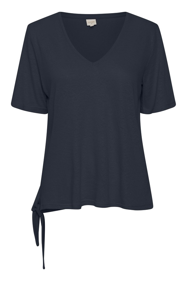 Cream Clothing - Kary - T-Shirt - navy