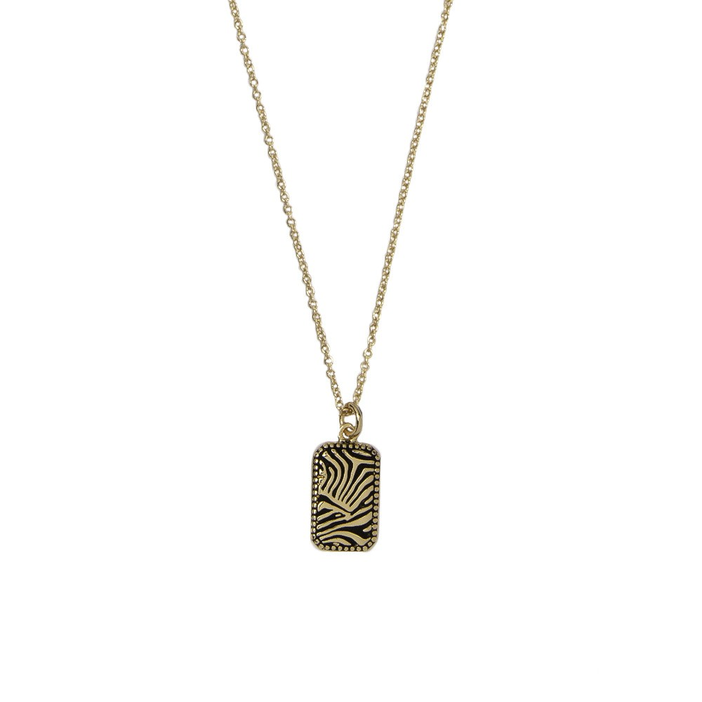 Necklace Zebra - gold