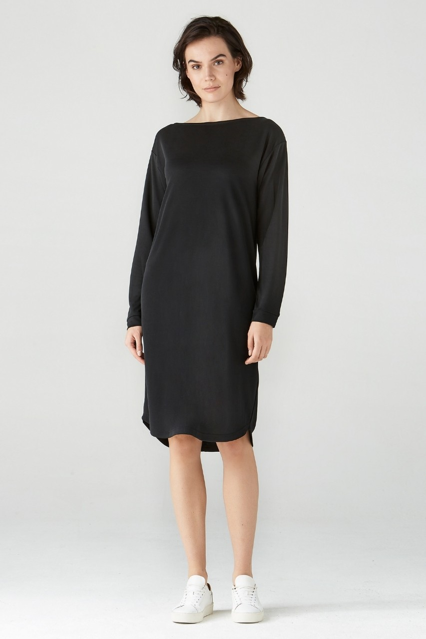 Simple - Ulva - Dress - Black