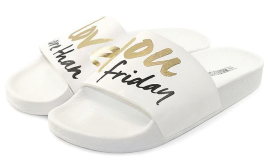 The white brand - Slides - Friday - weiß
