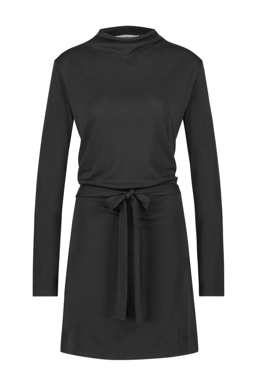 Simple - Emmelie - Turtle - Dress - Black