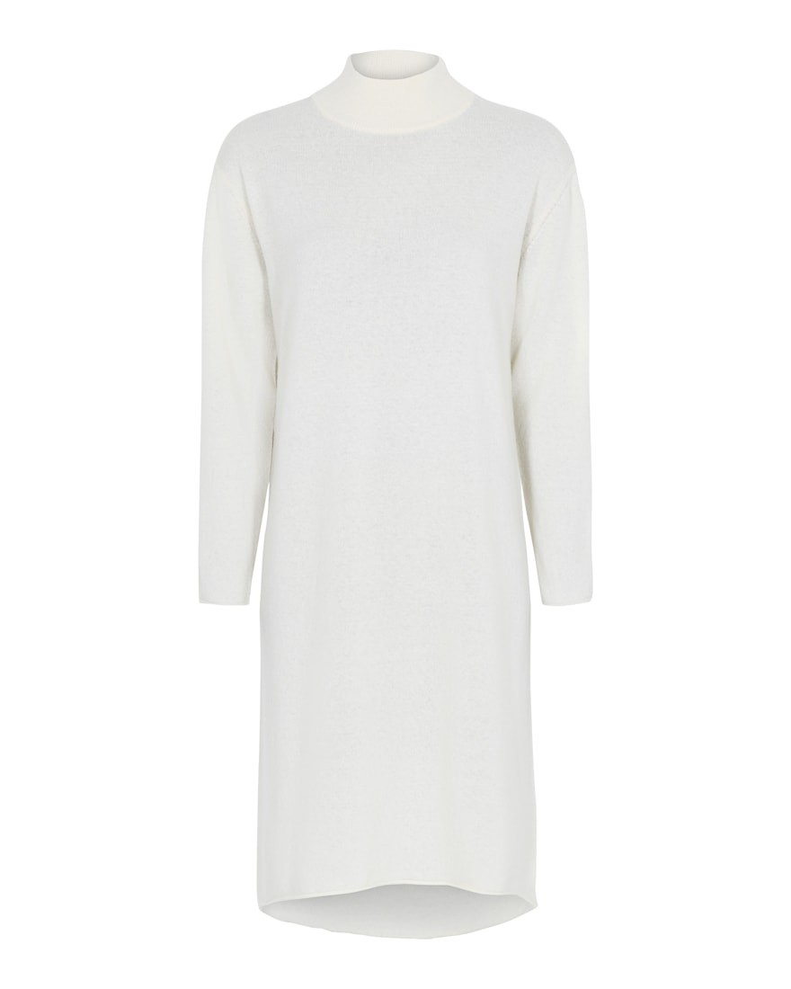 Tif Tiffy - Turtleneck - Dress - Offwhite
