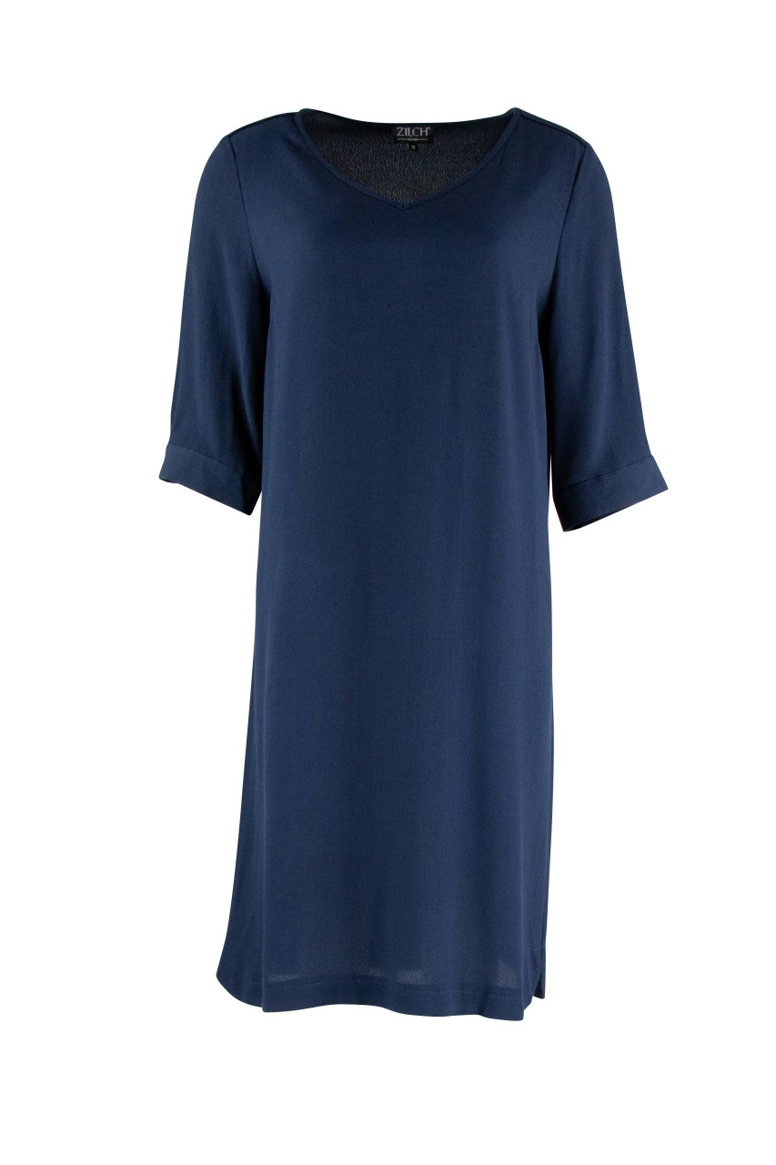 Dress V-Neck - navy