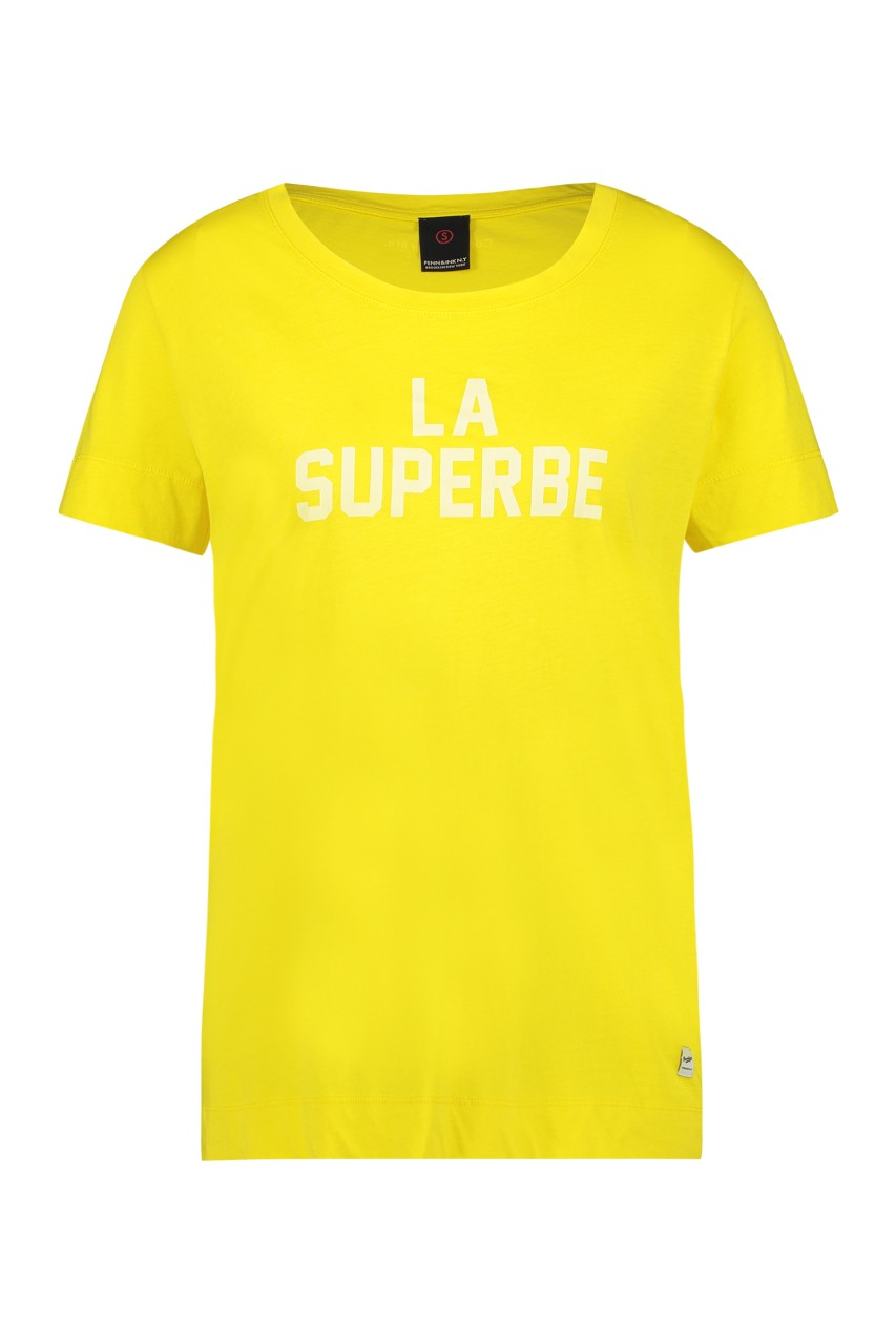 Penn & Ink NY - Tee - print - 536 - lemon