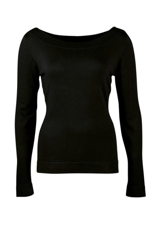 Zilch - Sweater - Bootneck - black