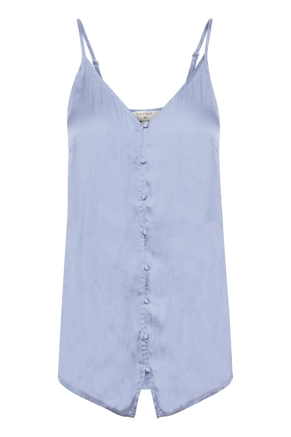 Cream Clothing - Miranda Top - blue