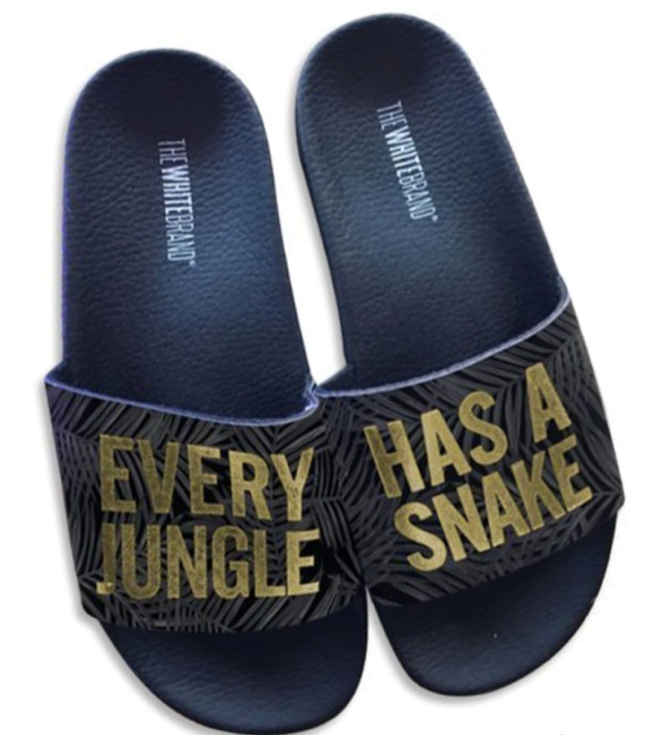The White Brand - Slides - Jungle - schwarz