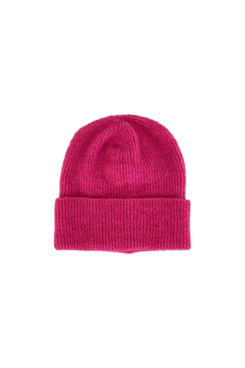 Black Colour - Hat - Pink