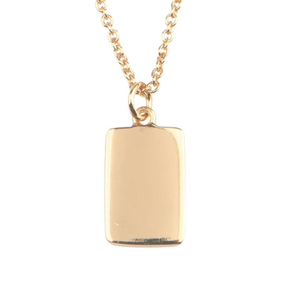 All the luck in the World - Necklace - Card - gold