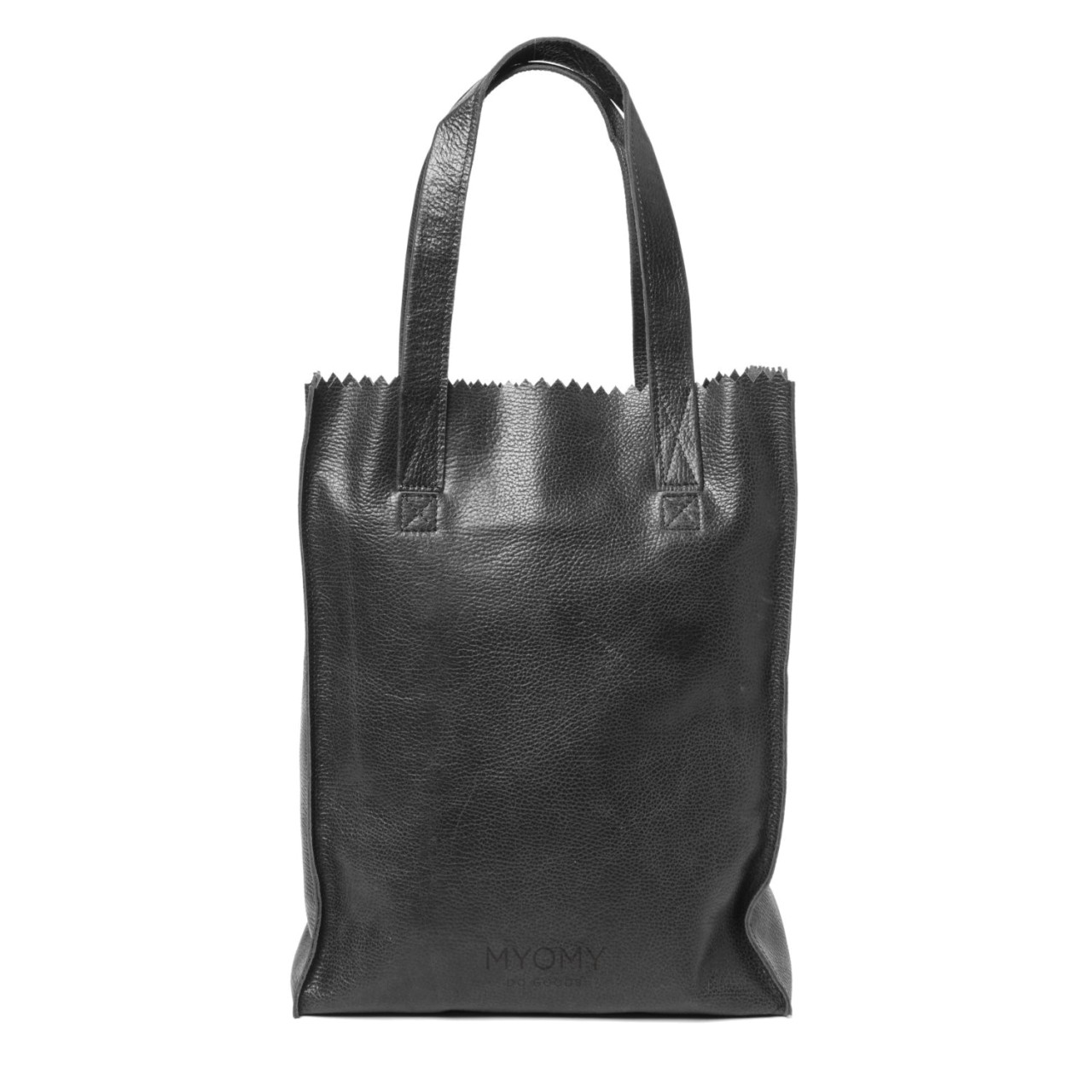 Myomy - My Paper Bag - Long handle zip - rambler black