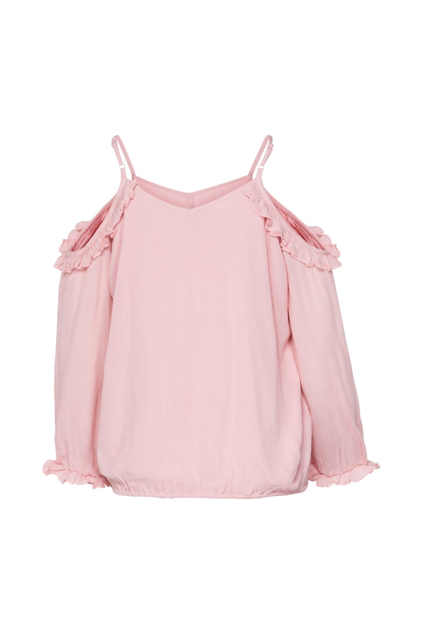 Sisters Point - Schulterfreie Bluse - Ada - rose