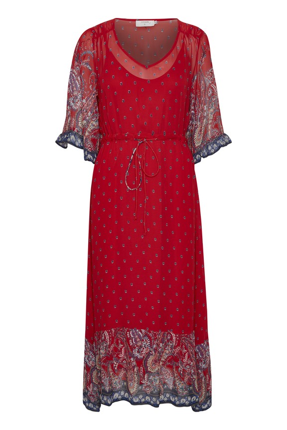 Cream Clothing - Nalita - Dress - red