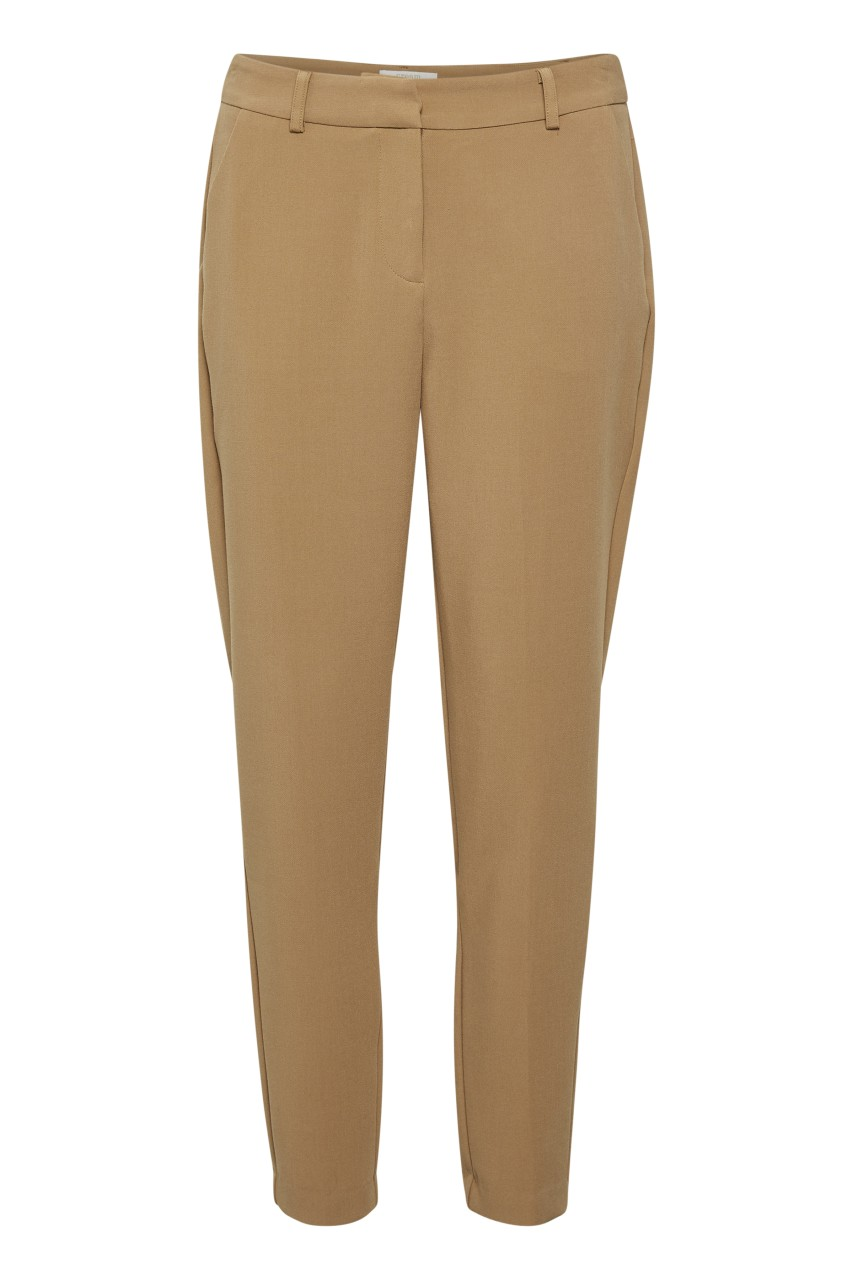 Kaya Straight Pants - camel