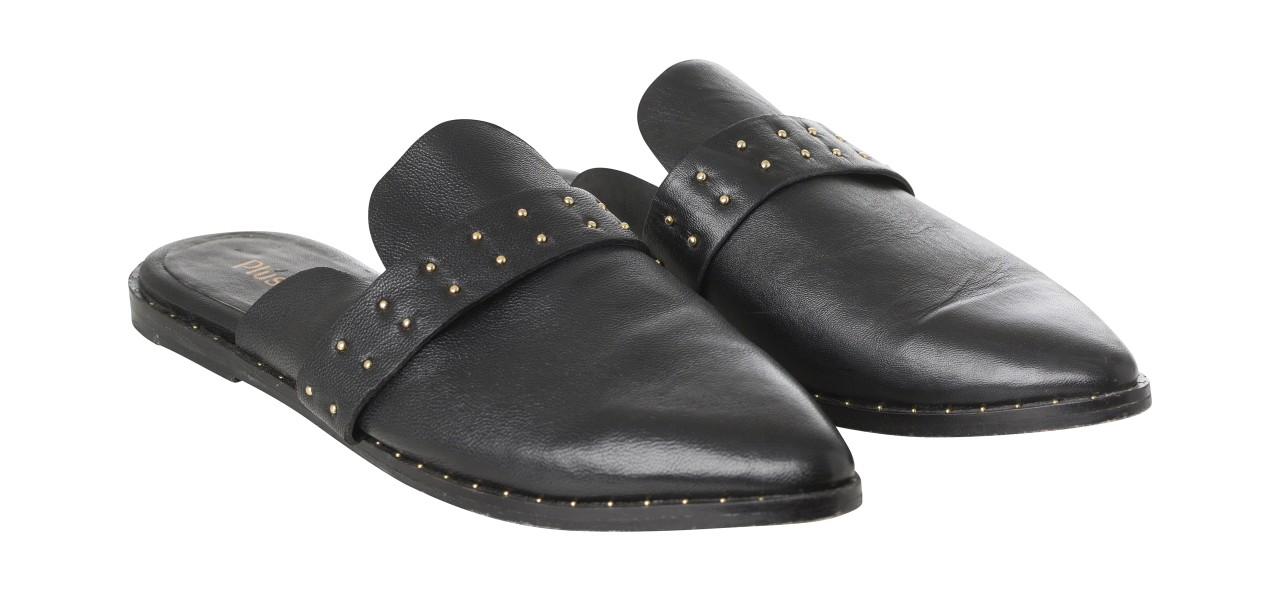 Plus Fine - Slipper - Kea - black