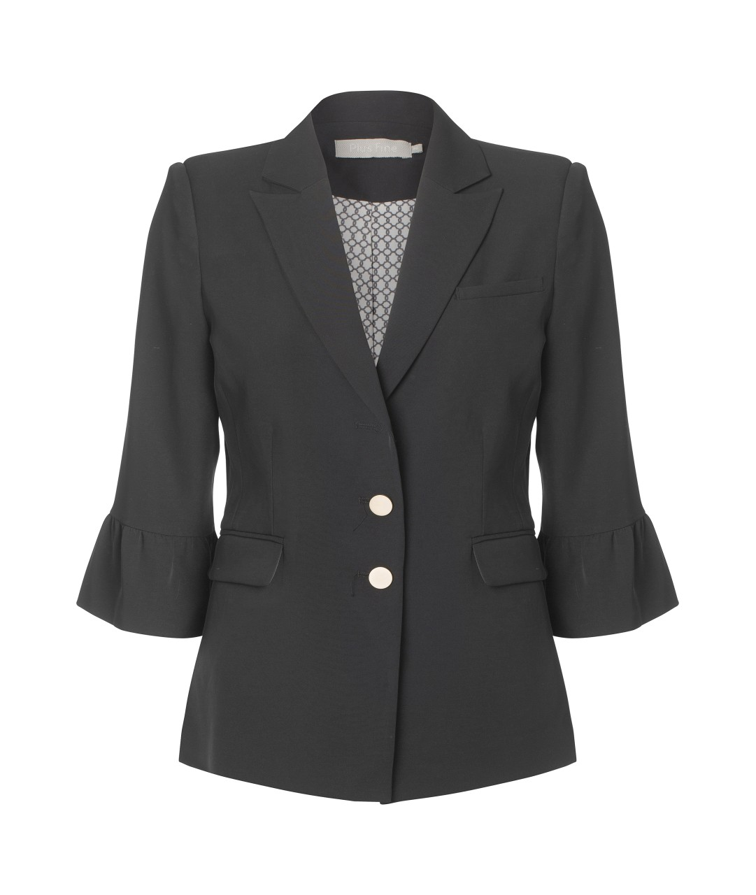 Plus Fine - Blazer  - Ione Fan - schwarz
