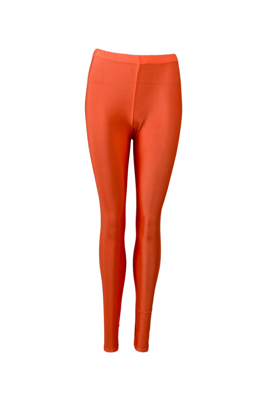 Colour - Gaya - glossy - Leggings - Orange