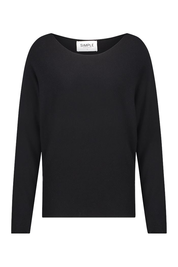 Simple - Noek - Sweater - Black