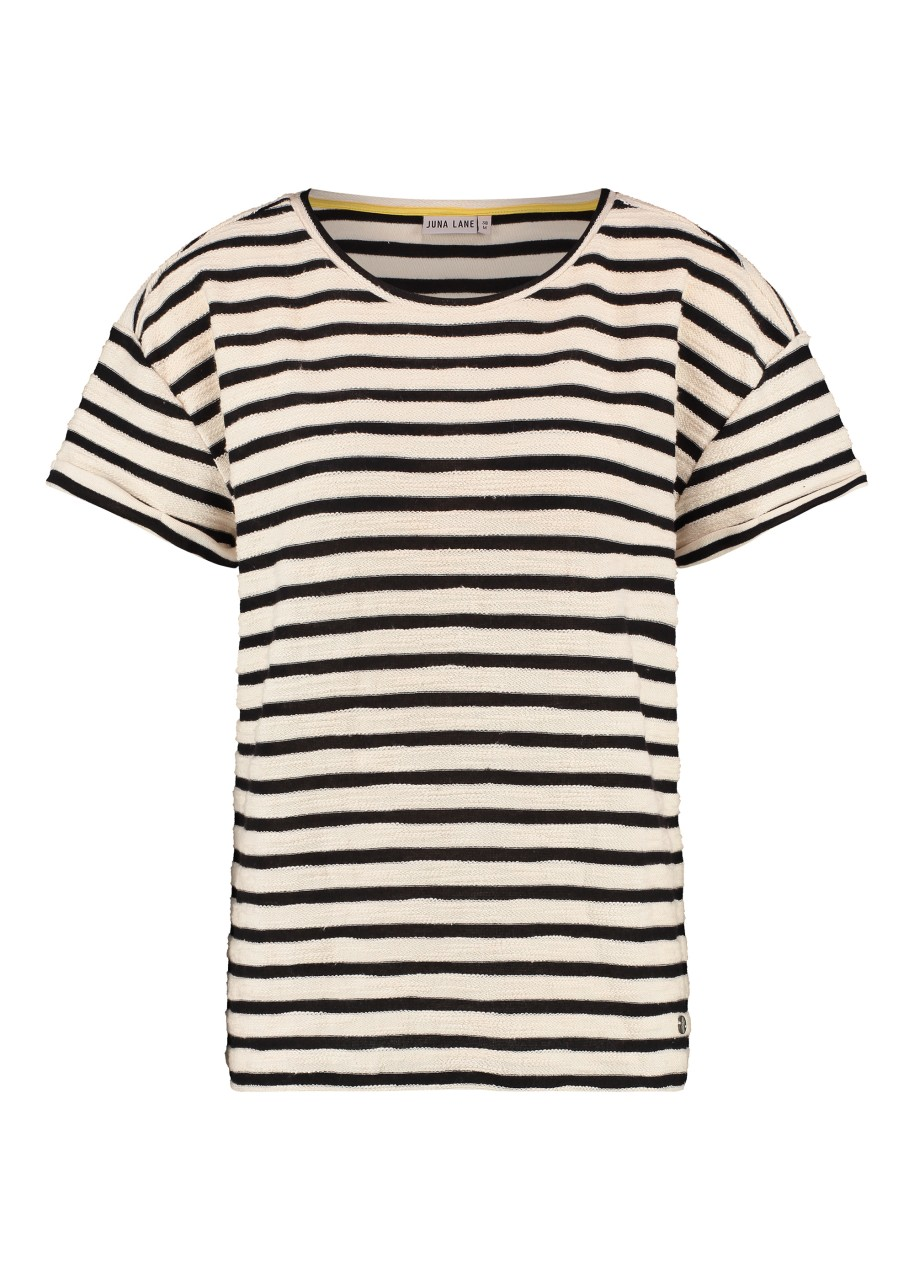 Juna Lane - T-Shirt - Sophia - stripes