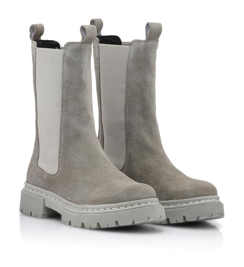 Shoebiz Copenhagen - Shrimat - Boots - Grey