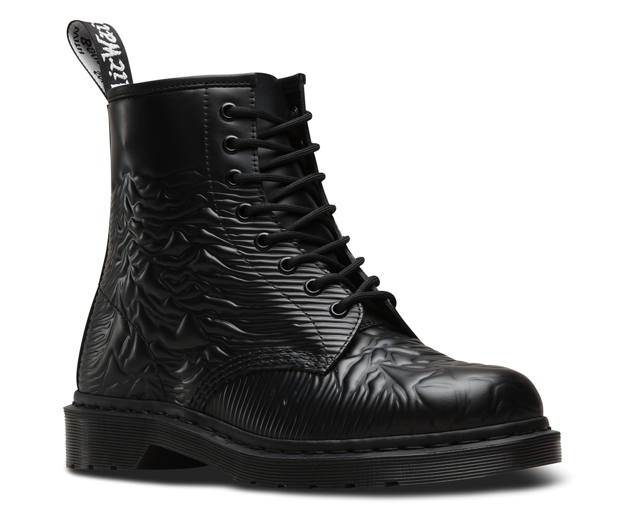 Stiefel - Dr.Martens Joy Devision Smooth Unknown Black  - Onlineshop Olden Mea