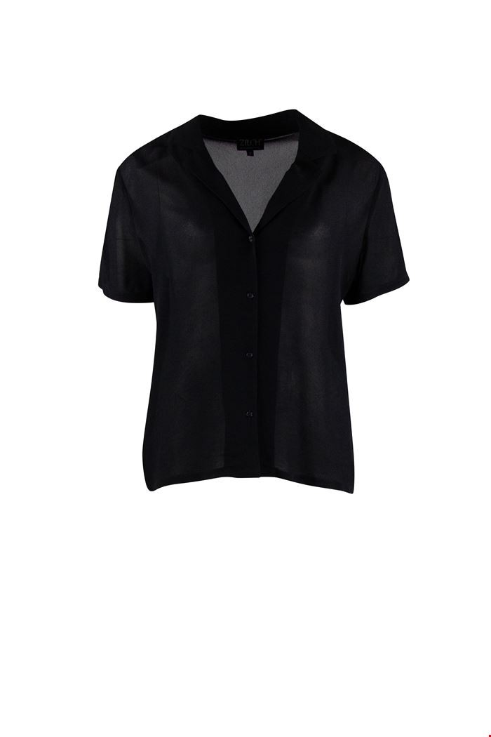 Zilch - Blouse - 034 - black