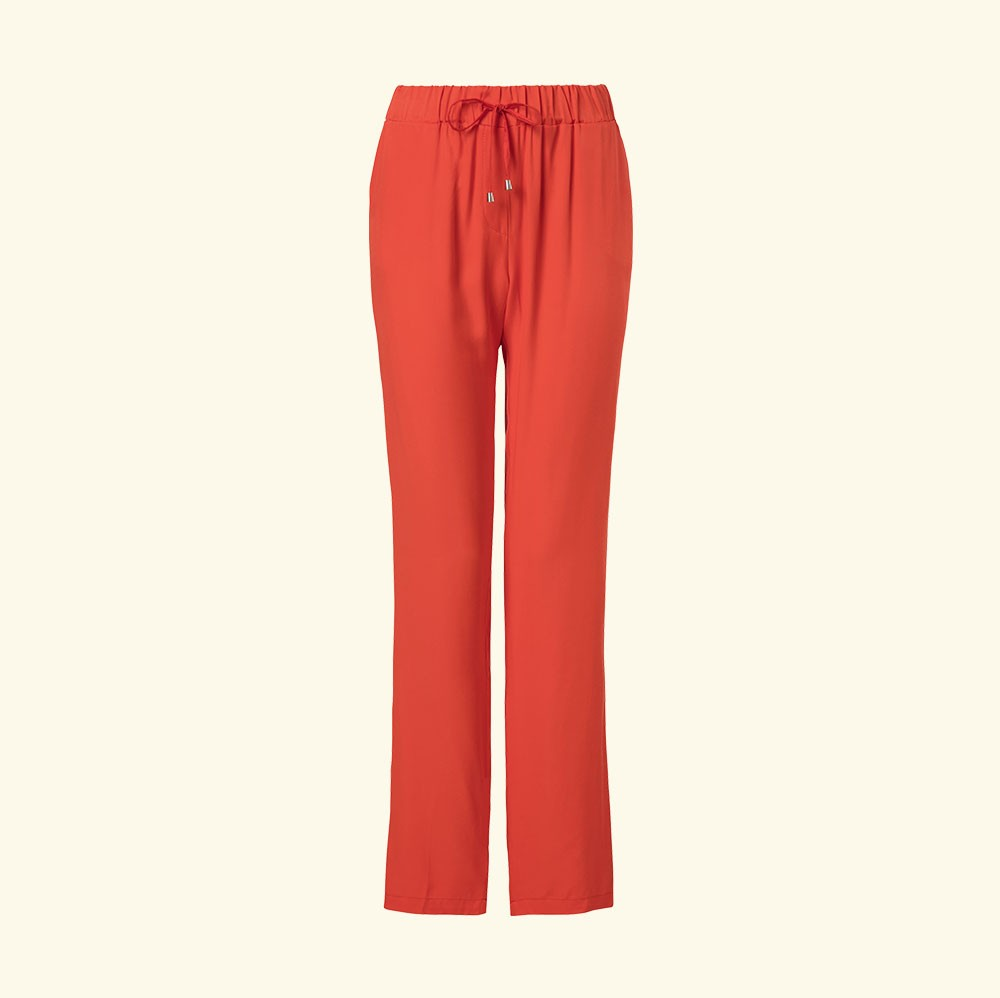Studio Italy - Trouser leisure wear - coral