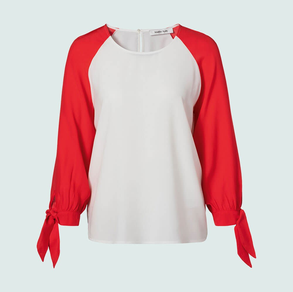 Studio Italy - Blouse - 92151 - coral
