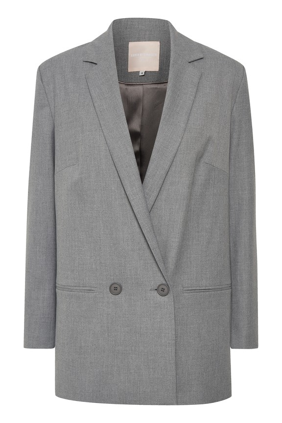 Karen by Simonsen - Sydney - Fashion- Blazer - grey